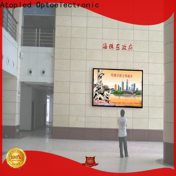 Atop full fixed led display with best color uniformity for advertising