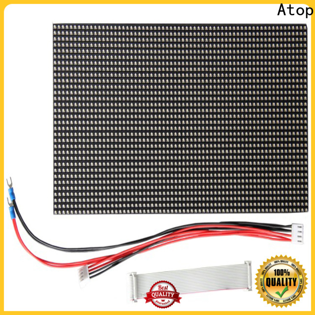 Atop display led modules for signs for indoor rental led display