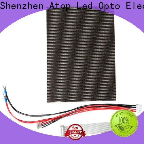 Atop signs rgbw led module to meet different need in market
