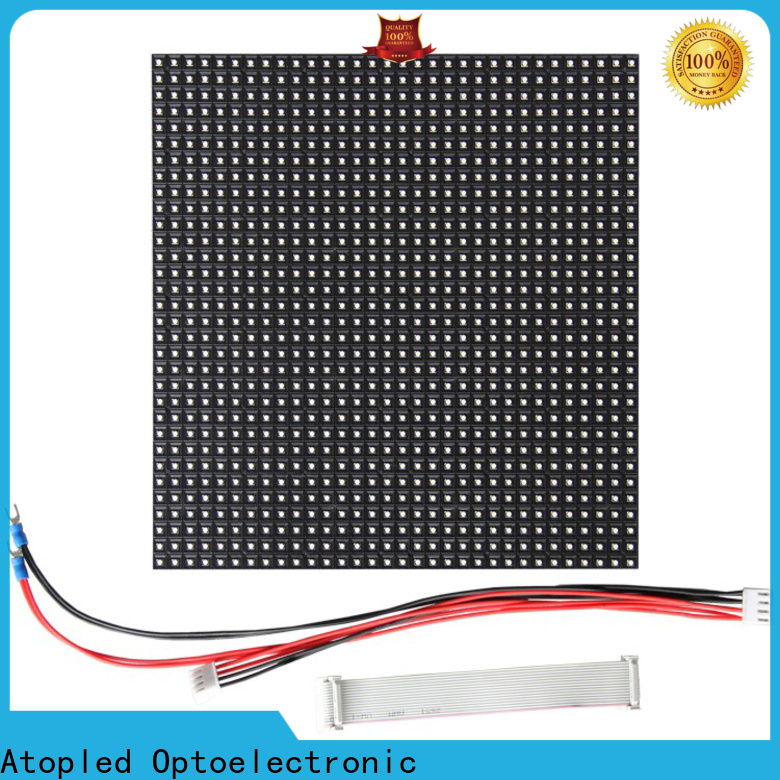 Atop online led module for advertising