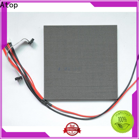 customized red led module module easy operation for advertising