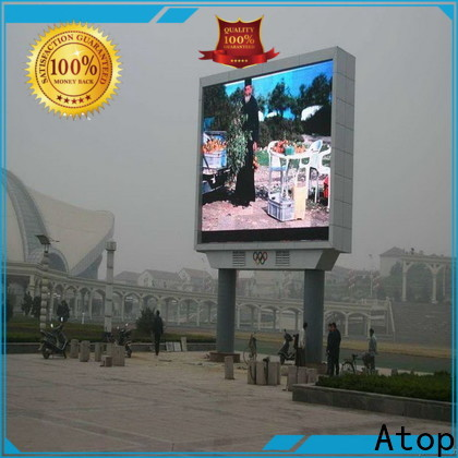 Atop online p10 outdoor led display price with relaible quality for display