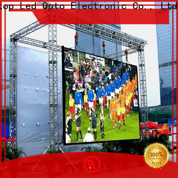 Atop led p4 led display to meet different need for both outdoor and indoor