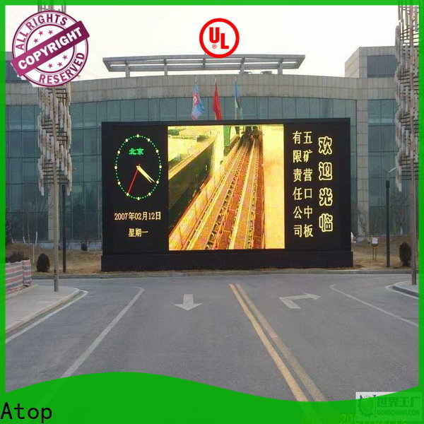 Atop online p5 led panel for advertising