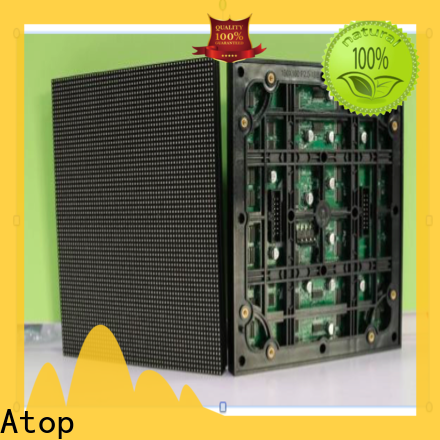 online round led module panel for advertising