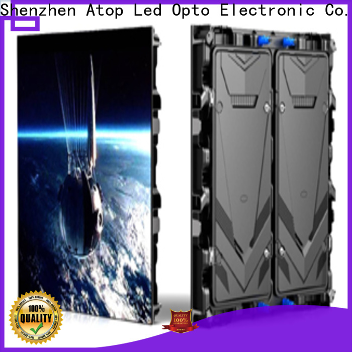 Atop customized small led screen to meet different need for display