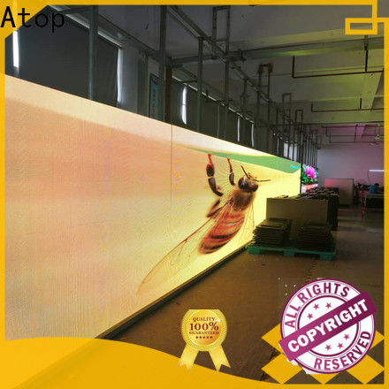 cost-effective indoor screen panels with high precision for company advertising