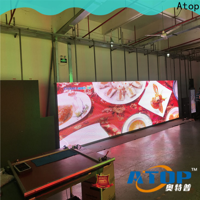 custom energy saving led display easy maintenance for company advertising