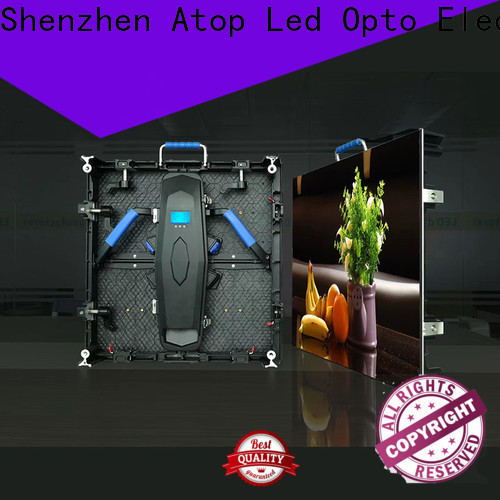 Atop display video display with high-quality for LED screen