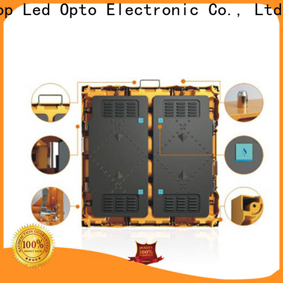 high-strength led video display display with reliable quality for company advertising
