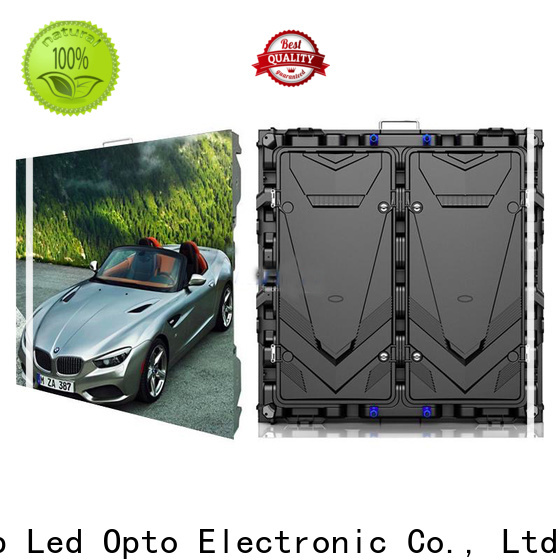 Atop wide view angle led advertising screen with reliable driving IC for advertising