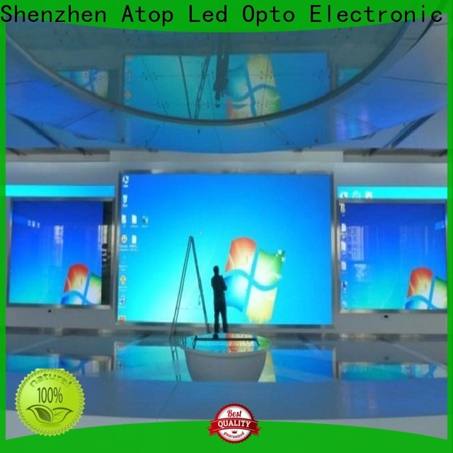 Atop wedding indoor led billboard with the stringent quality standards in market