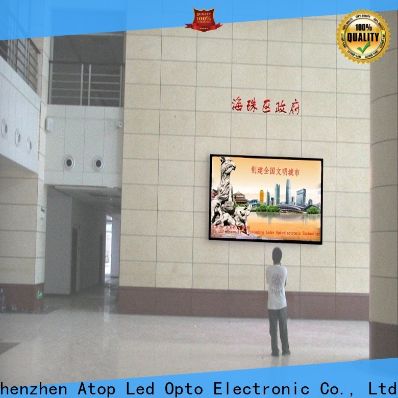 favorable digital wall display large with the stringent quality standards for advertising