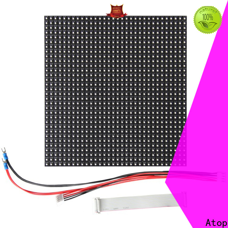 customized p6 led module full to meet different need for advertising