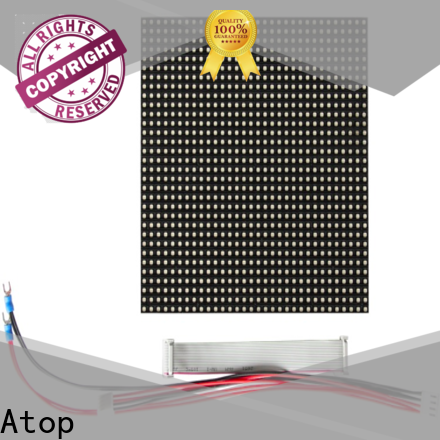 Atop customized full color led module easy operation for indoor rental led display