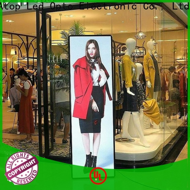 elegant led lights for poster boards easy installation for brand chain stores