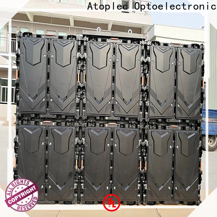 waterproof outdoor led screen for sale installation to meet different need for display