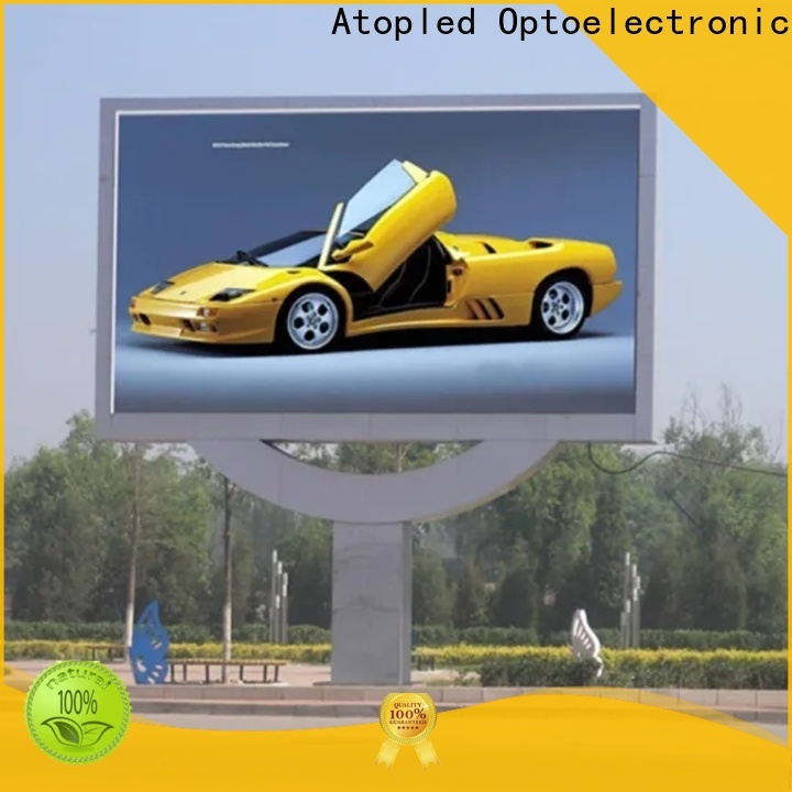 Atop custom indoor screen panels with reliable quality for company advertising
