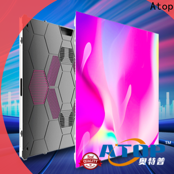 Atop best led display manufacturers in china with best color uniformity in market