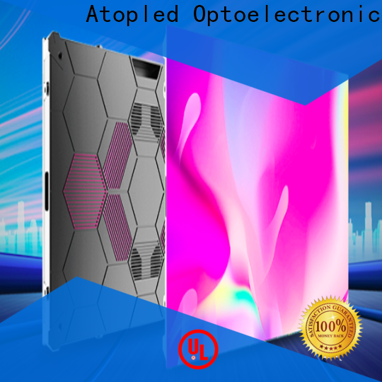 high-quality led pixel display with best color uniformity for company advertising