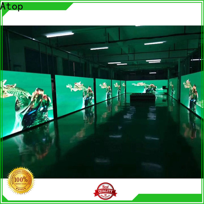 Atop color led video wall hire with high-quality