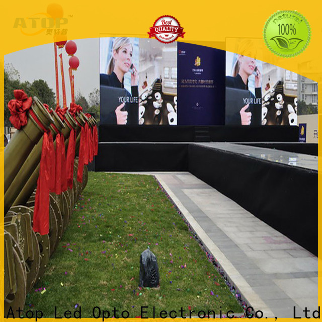 Atop display indoor led panel in strict accordance with relevant national standards for indoor rental led display