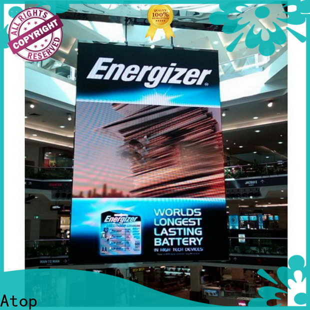 Atop portable digital signage displays with high-quality for LED screen