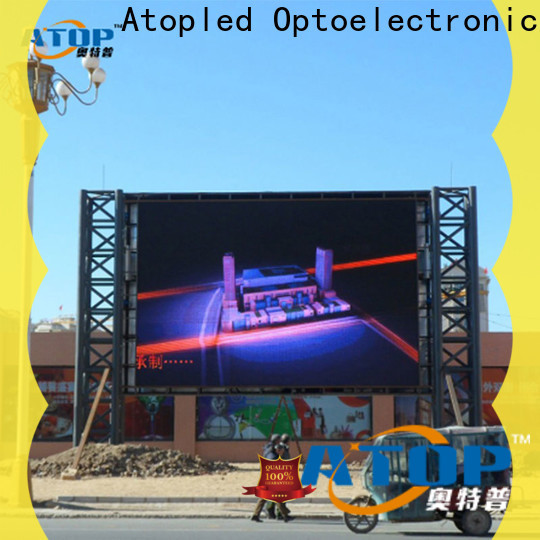 custom rental led sign universality with high precision in market