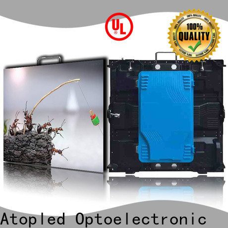 Atop anti-interference led screen hire with reliable quality in market