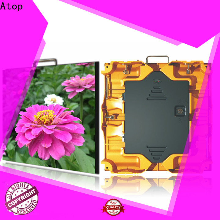 cost-effective advertising led screen price slim easy assembling for indoor rental led display