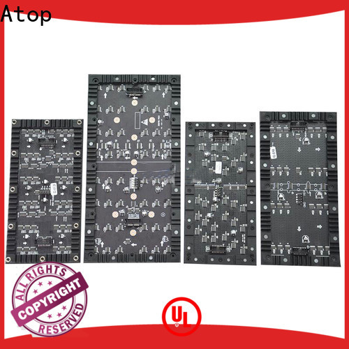 Atop curtain flexible led panel easy to assemble for shopping mall