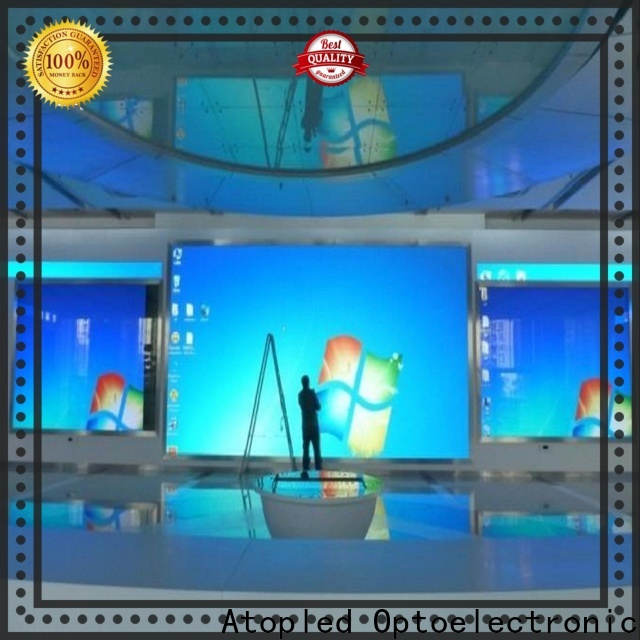 Atop good consistency large led display with best color uniformity for advertising