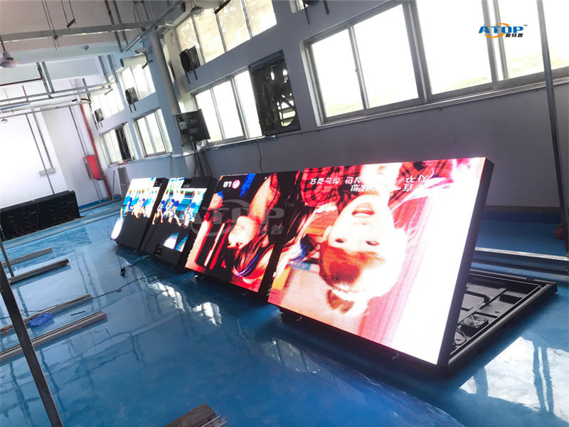 P5/P6/P8/P10 front service outdoor led billboard front-open led display