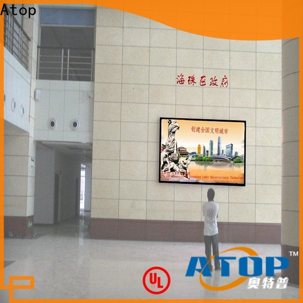 Atop display led advertising screen with relaible quality for indoor led display