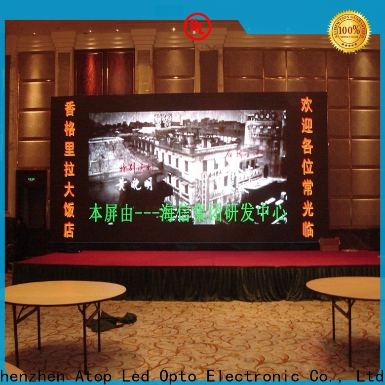 automatically digital display screen mounted with best color uniformity in market