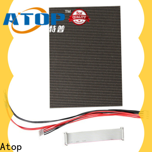online round led module screen easy operation for advertising