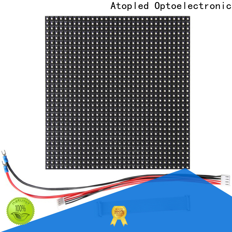 Atop panel p6 led module in market