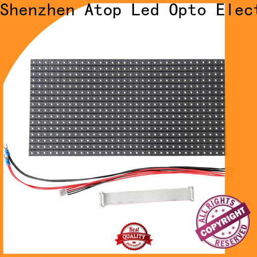 Atop size led module price with relaible quality for indoor rental led display