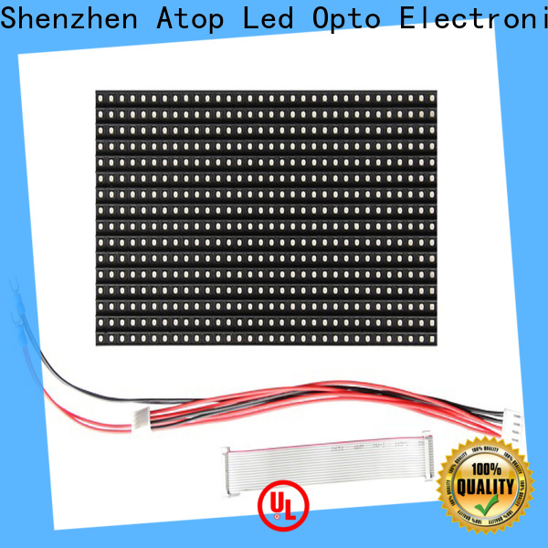 Atop high quality mini led module to meet different need for advertising