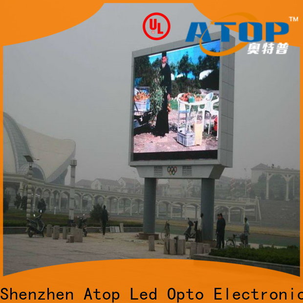 Atop online p4 led wall with relaible quality for advertising