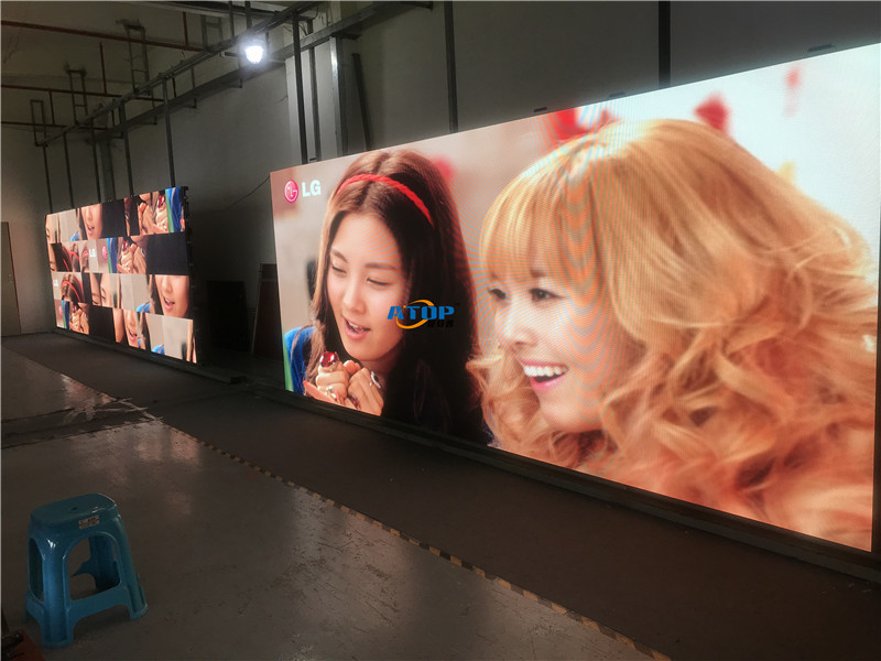 ATOP indoor P3.91 rental led display