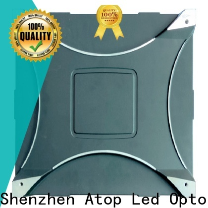 Atop display video wall 2x2 with reliable driving IC for advertising