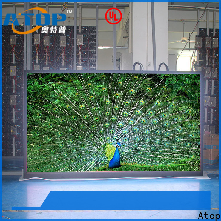 Atop custom led screen rental in strict accordance with relevant national standards for indoor rental led display