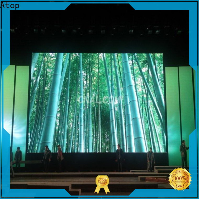 Atop color led panel screen with high-quality for your led display applications