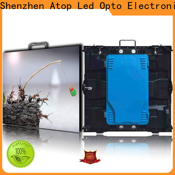 Atop anti-interference stadium led display screen with reliable quality for both outdoor and indoor
