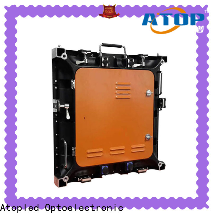high-strength electronic display screen with reliable quality for company advertising