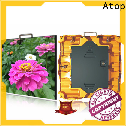 Atop excellent hd led display easy assembling for your led display applications