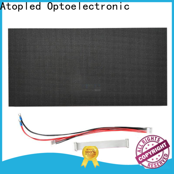 Atop customized waterproof led module with relaible quality for advertising