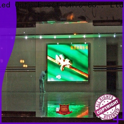 Atop wide view angle electronic advertising board with best color uniformity for advertising