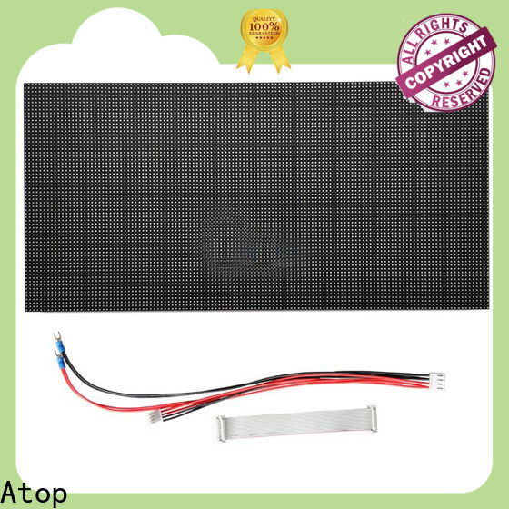 Atop high quality led module lights with relaible quality for advertising
